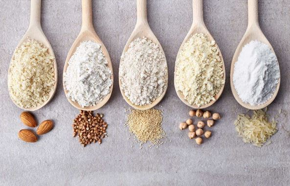 different types of flour and how to use